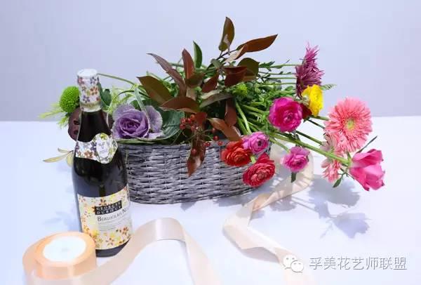 花艺课堂 | 欧式礼物花篮图片