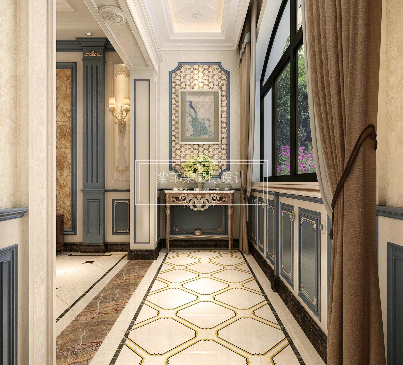 贵阳别墅装修:碧桂园400平米法式古典风格案例图片