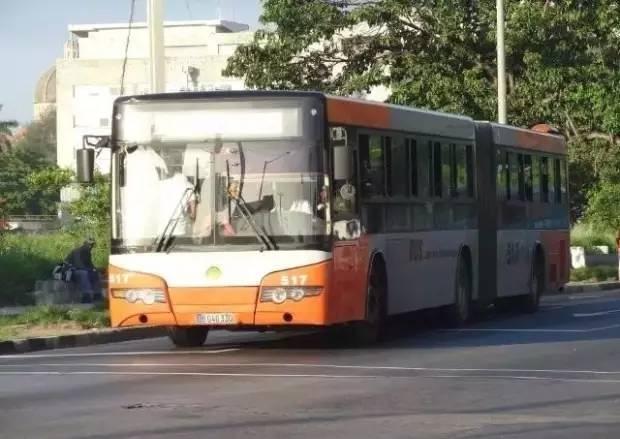 宇通客车在古巴