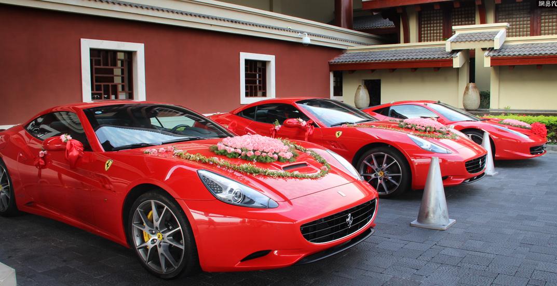 哈尔滨最豪华的婚礼车队 劳斯莱斯仅是开路车