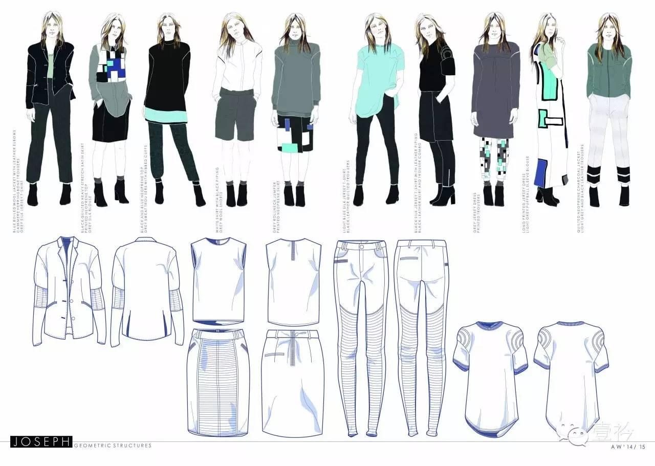 服装设计留学作品集课程图片