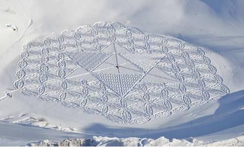 这才是把雪玩到极致! 60岁的他踏雪7年,每幅画面都美到窒息! - 浪浪云 - 仰望星空