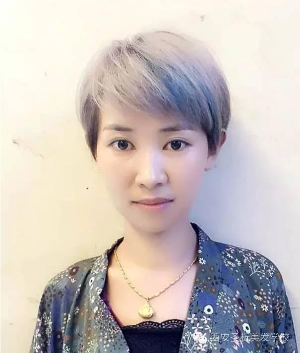"""【2017短发流行""""定位烫""""】图片"""