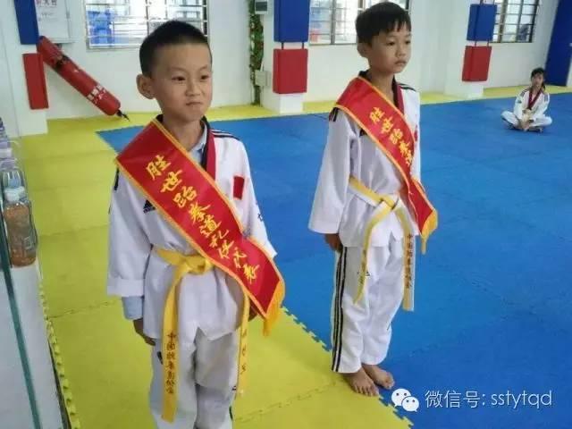 [胜世体育]练习跆拳道培养正义感