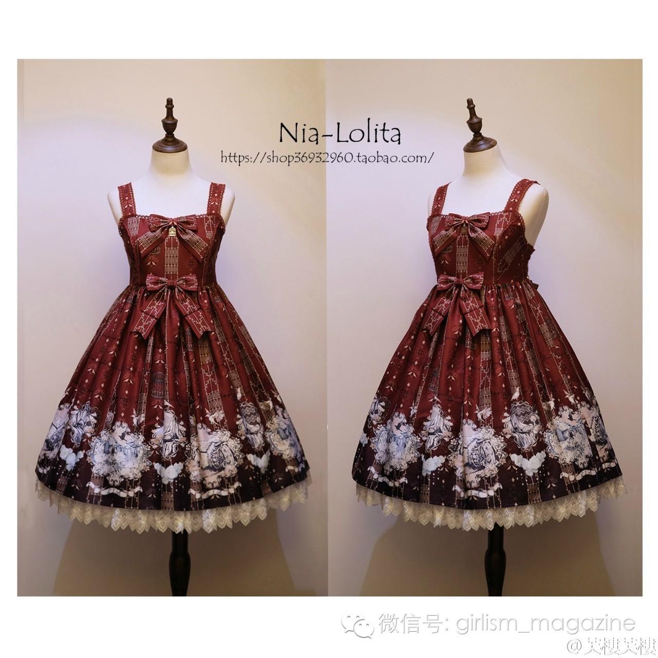 时尚 正文  n.i.a lolita 为你最喜欢的裙子投票吧!可多选!图片