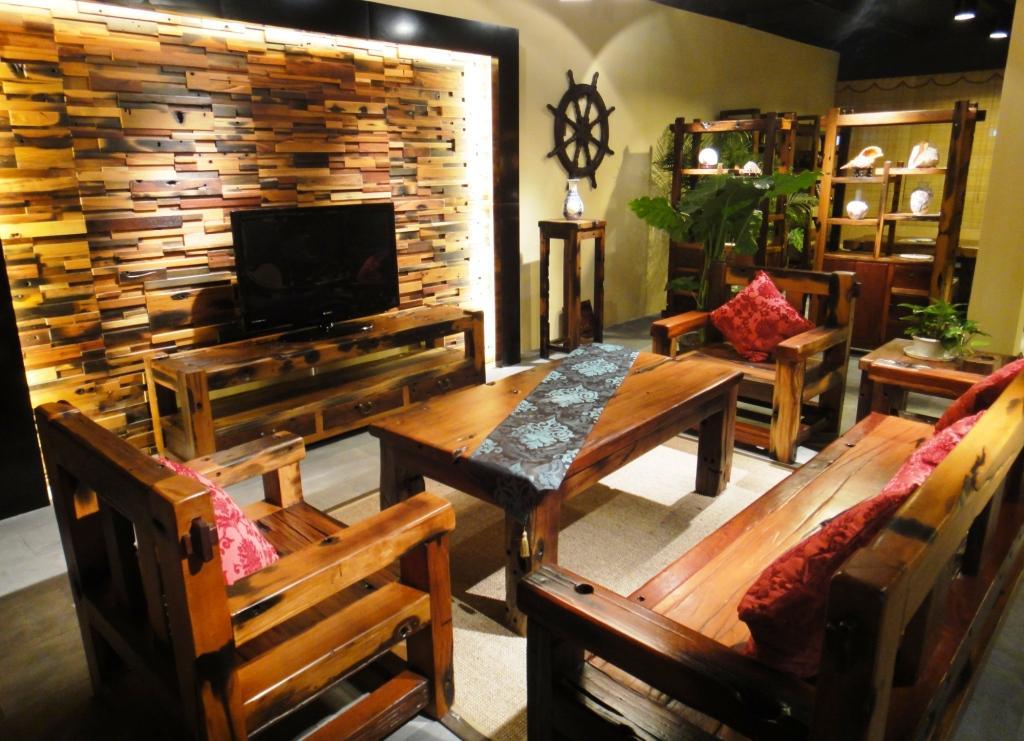 船木家具装修空间-客厅