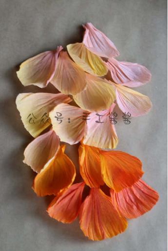 牡丹花手工纸花的折法图解教程