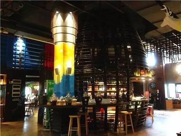 餐厅钵子菜荧光板图案设计