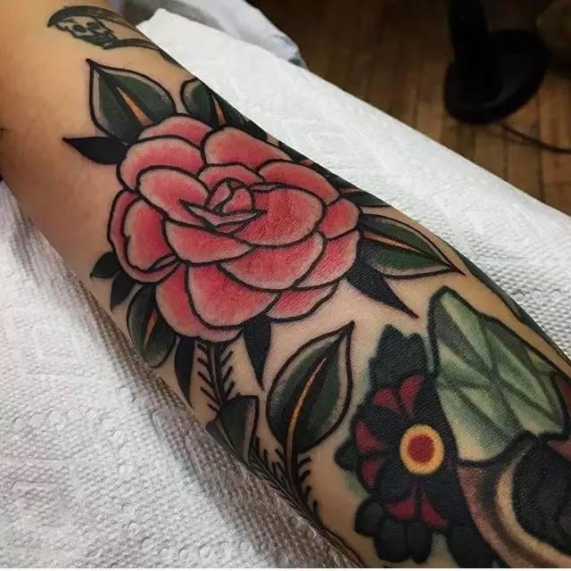 物质师|加拿大纹身师vaclav纹身老风俗老欧美名高中化学传统图片
