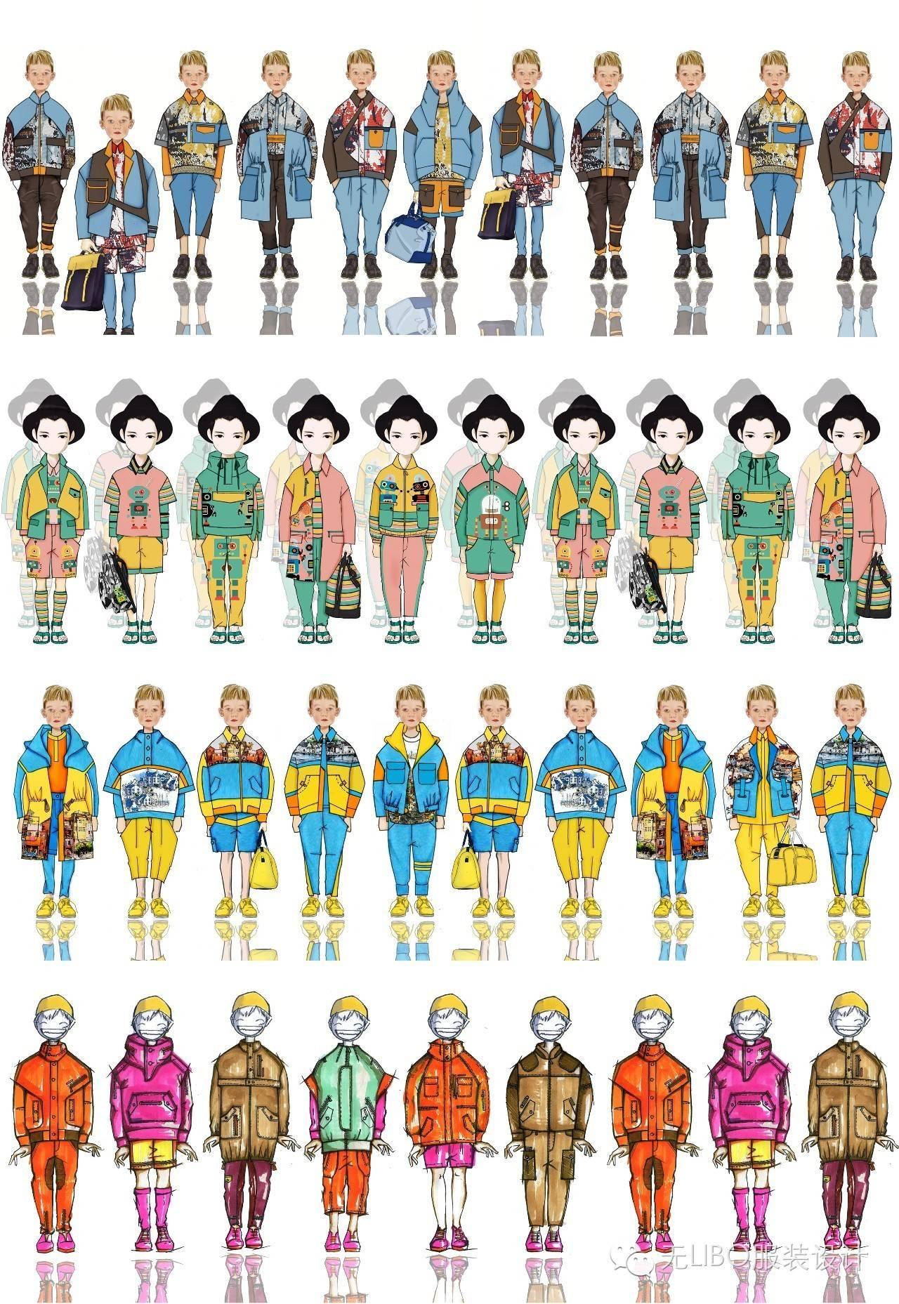 儿童服装简称童装,指适合儿童穿着的服装.