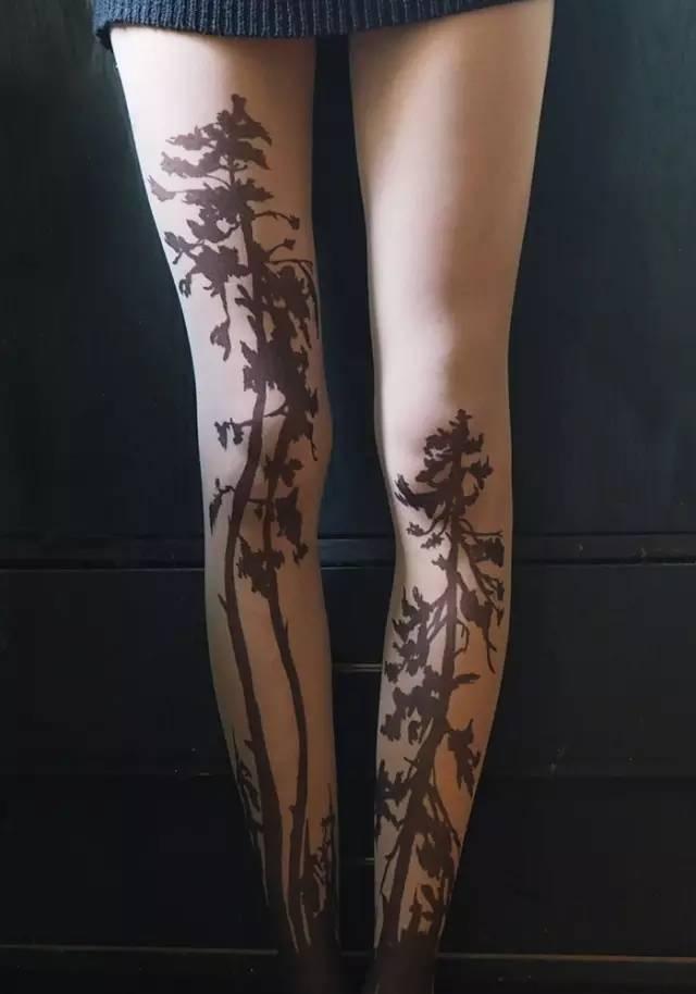 丝袜纹身!| 美腿大作战