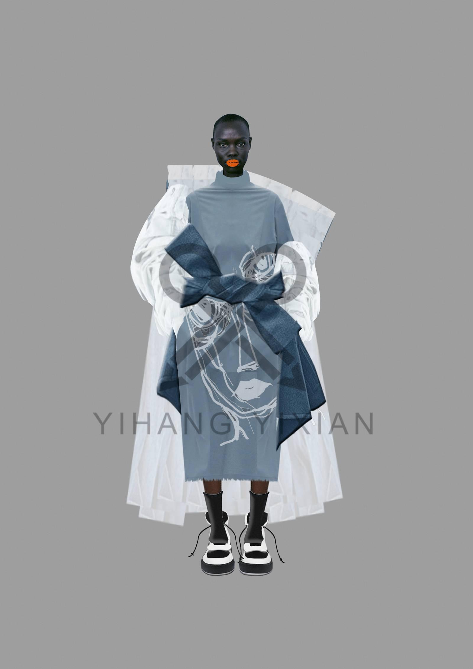 服装设计大赛入围效果图手稿再次曝光,引爆整个大赛圈