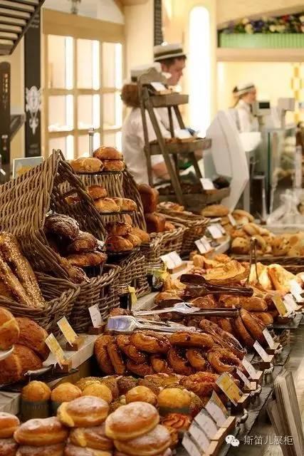 不一样的面包陈列汇总,你看后也会想试试!图片