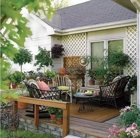 最美的庭院,最美的家