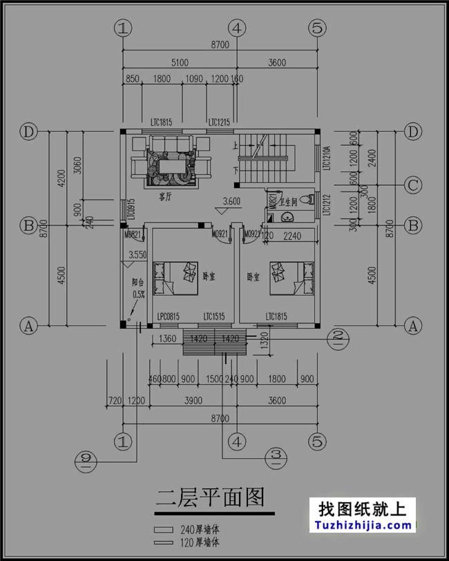 90平米建筑四层房屋v房屋图纸内涵效果图秦禾复古设计院图片