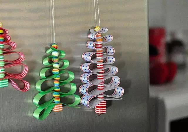 幼儿园圣诞节环创—吊饰