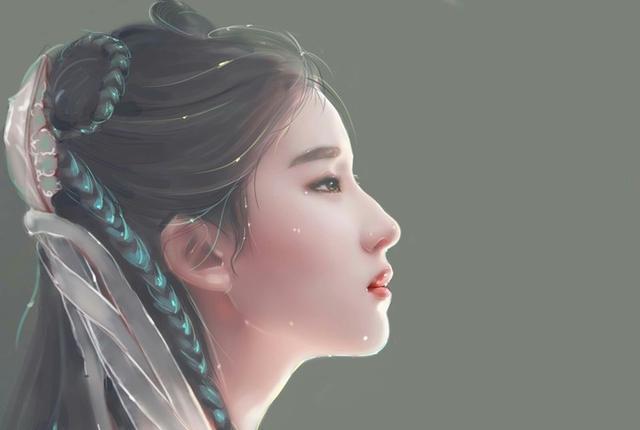 八位最惊艳的古装女子手绘图 赵丽颖第三 最美是她