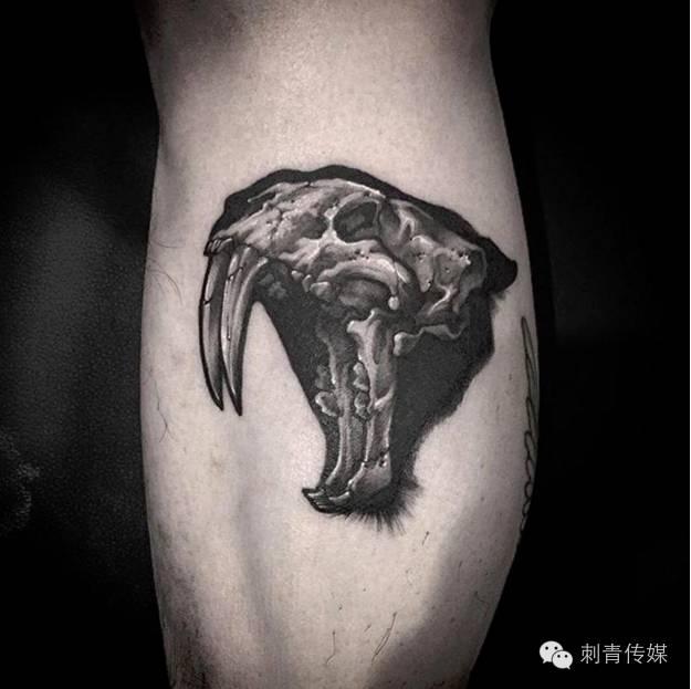 羊骨头纹身图案大全