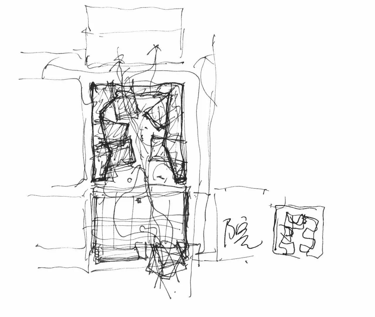 寝室空间设计手绘图片