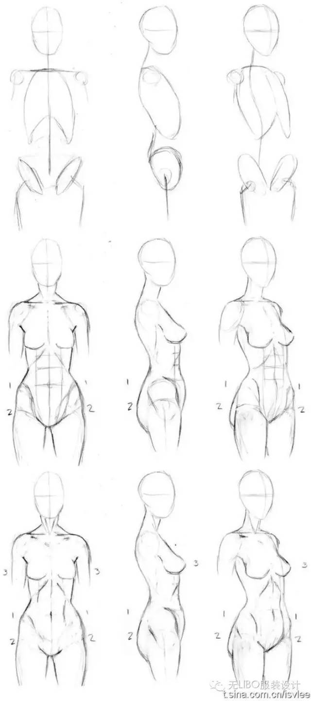 服装人体_毕业设计系列 (人体篇)史上最全服装人体 你想要的(男