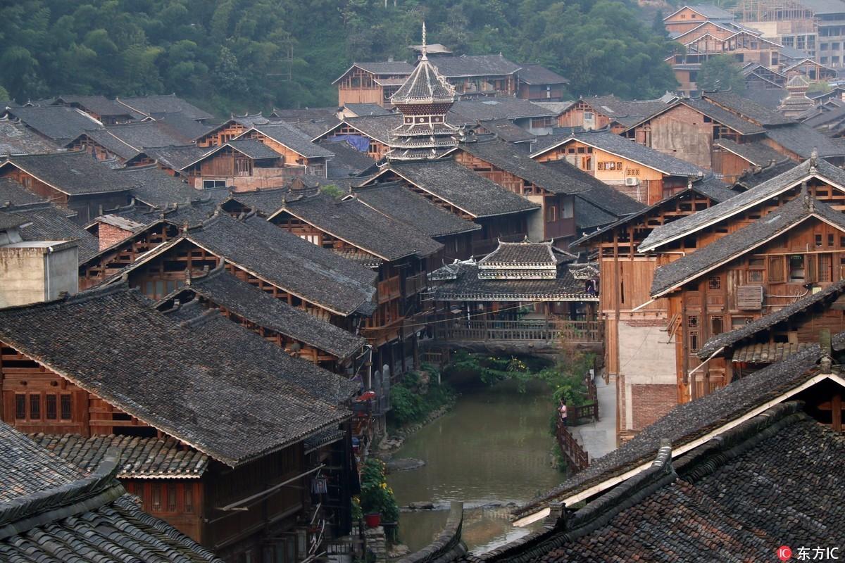 广西侗族民居平面图