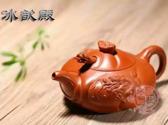 """冰歆殿 鱼化龙——紫砂最体现""""飞黄腾达""""壶型"""""""