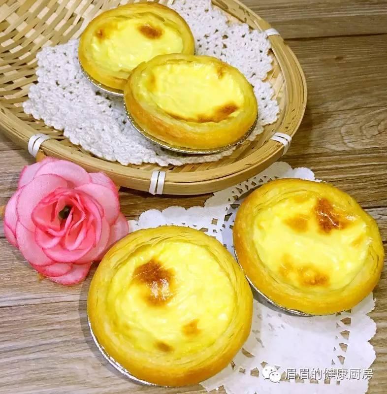 【特百惠多用锅烘焙食谱】原味蛋挞&蓝莓蛋挞