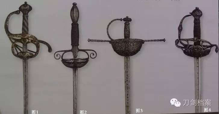 欧洲贵族之剑---细剑的形制与发展浅说图片