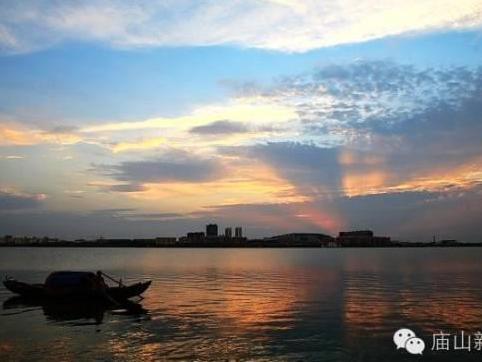 """美得醉人!中国最大的城中湖汤逊湖夕阳美景!"""""""
