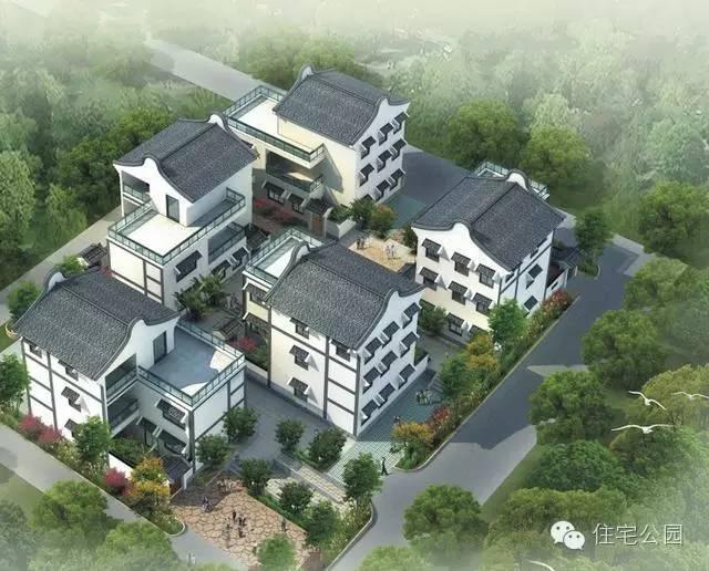 新中式农村别墅 9米面宽 就这样建一栋孝顺的房子