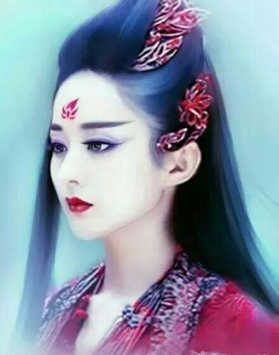 古装人物手绘:赵丽颖,刘诗诗,刘亦菲,惊艳璀璨