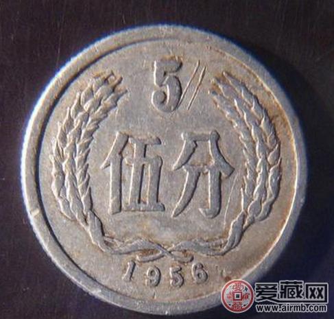 1982年5分硬币值钱吗图片