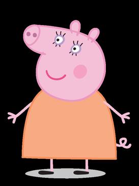 猪妈妈_猪妈妈是个温柔的妈妈,也是个好妻子.善良幽默,对孩子有耐心.