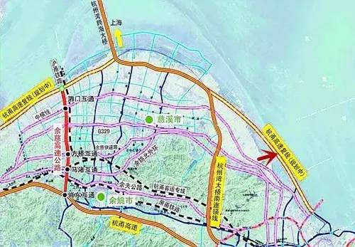 宁波市铁路规划图