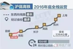 郑州将首开昆明方向高铁列车 明年1月5日起郑州调整列车运行图