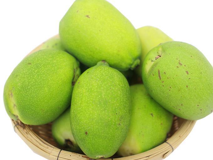 云南特色水果--永平白木瓜