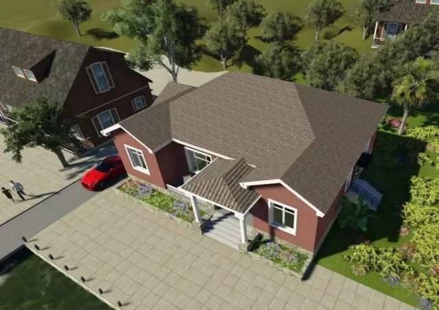 3套一层实用农村自建房设计,经济实用