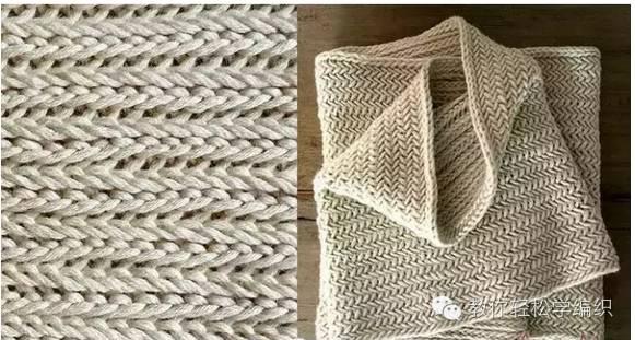 简单时尚韩式针织围巾教程(添加视频教程)