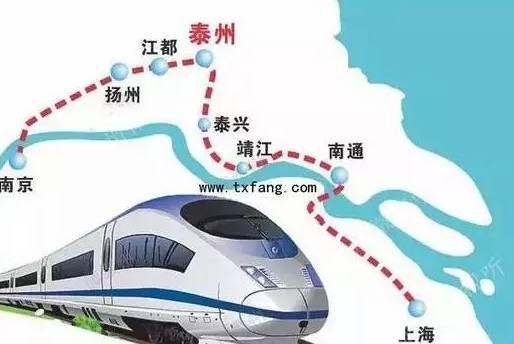 北沿江高铁2018年开建,沿途18站曝光