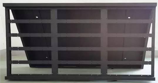 双面led显示屏箱体结构