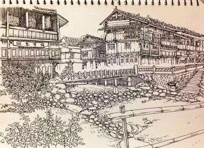 北京成人学画画作品