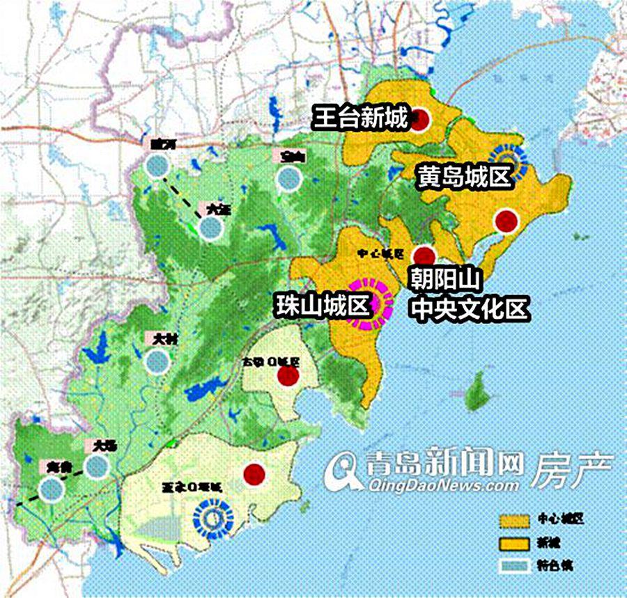 西海岸市民日益增长的经济,文化交流需求,以及西海岸新区的发展建设