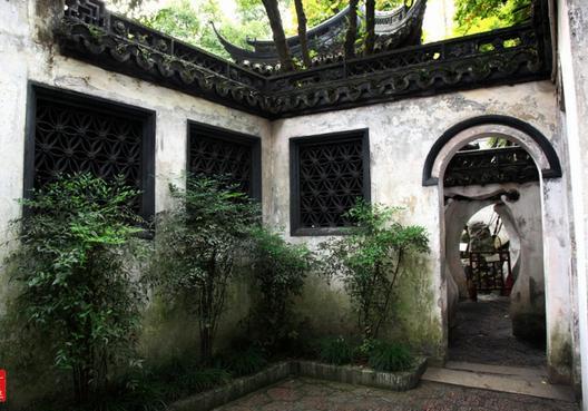 中式古典园林洞门设计工艺的形状分类总结图片