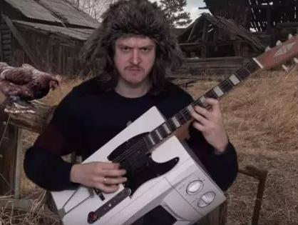 rd哥 垃圾变吉他
