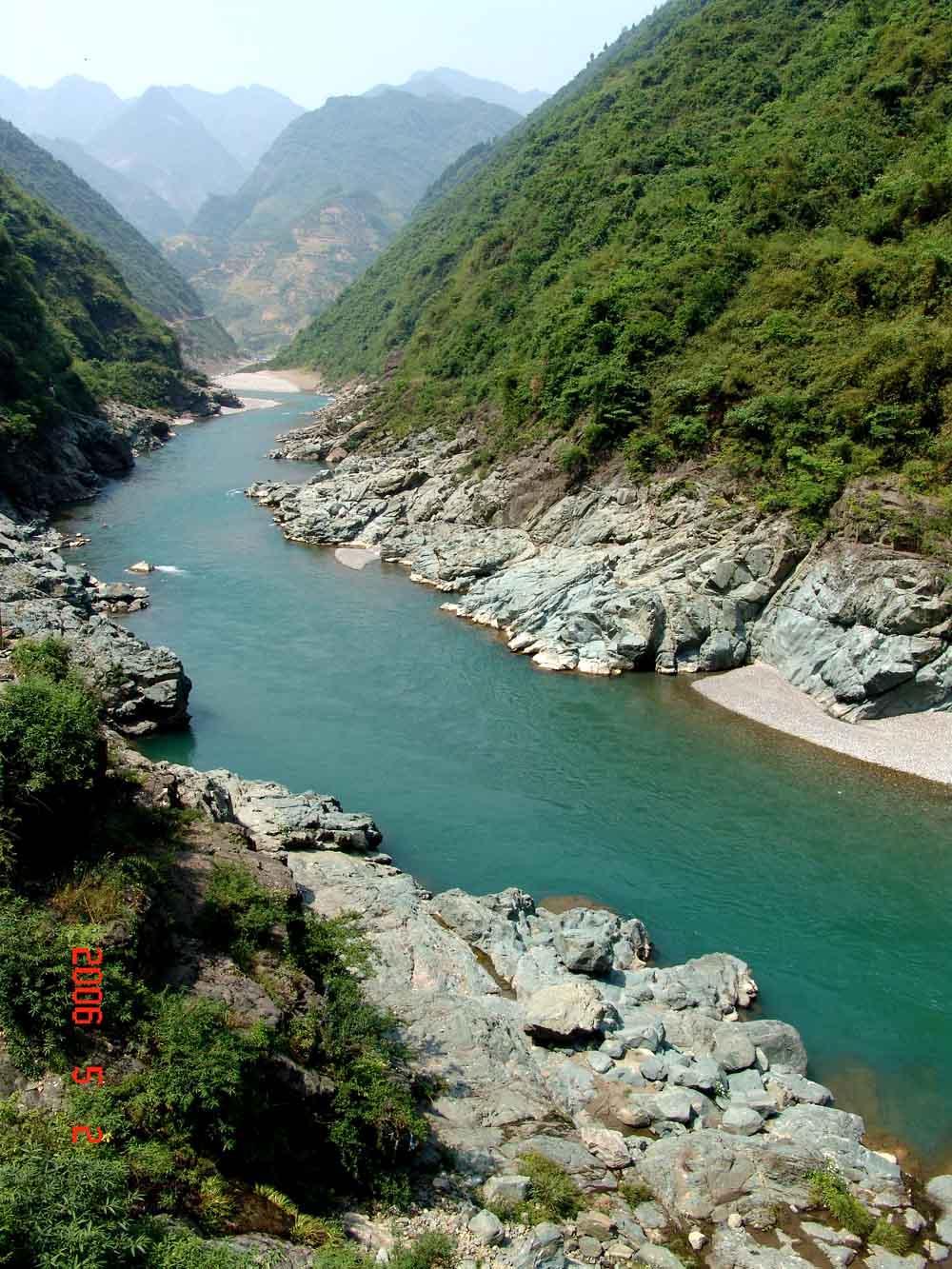 任河上游:城口县主要旅游景点图片