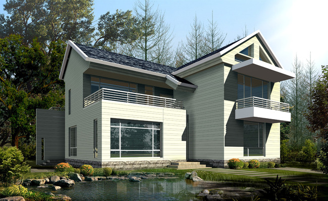 20款农村小别墅设计图