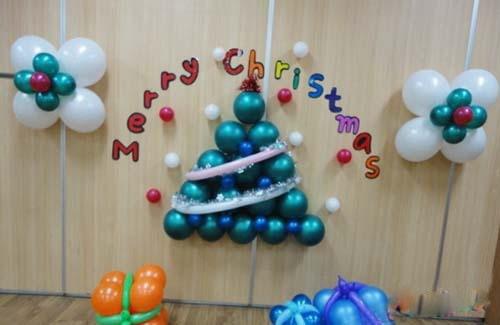 幼儿园圣诞节墙饰挂饰手工环创