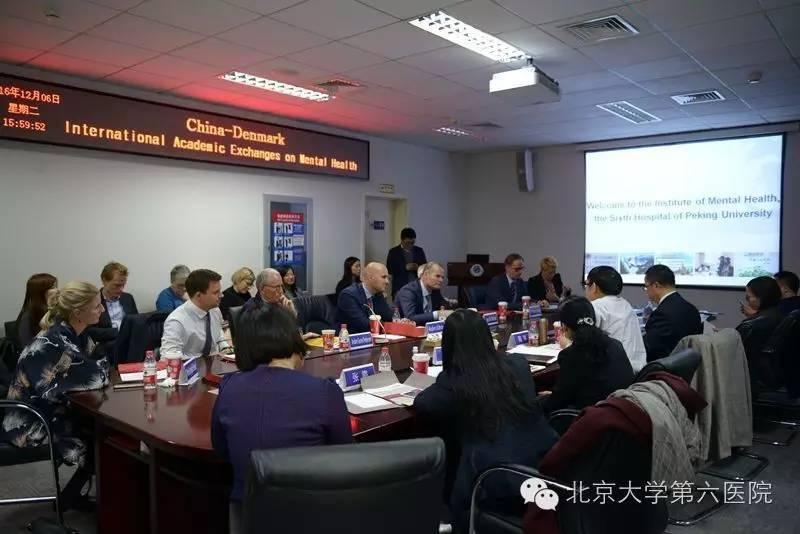 北京大学第六医院成功举办中国—丹麦国际精神卫生学术交流活动