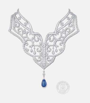 新海诚电影很美,但国内外这些珠宝设计手绘图更美图片