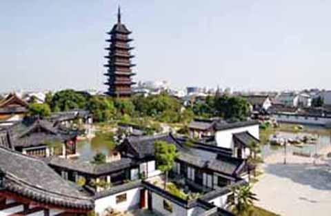 上海古建筑的皇冠——方塔